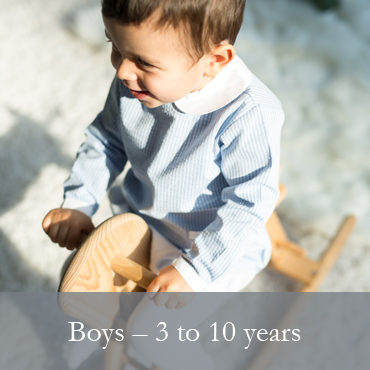 BOYS - 3 to 10 years