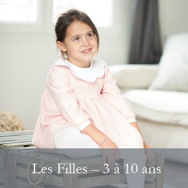 LES FILLES -  3 à 10 ans