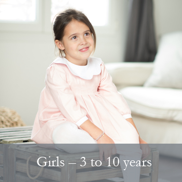 GIRLS - 3 to 10 years