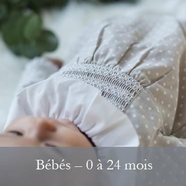 Les bébés - 0 à 24 mois