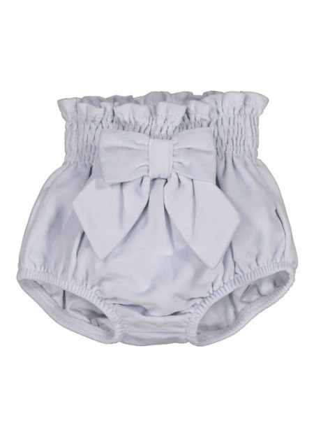 Bloomer velours noeud gris