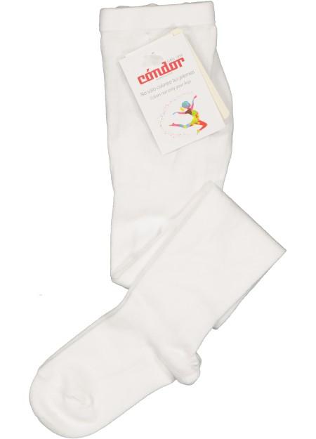 Collants ajourés blancs Cóndor